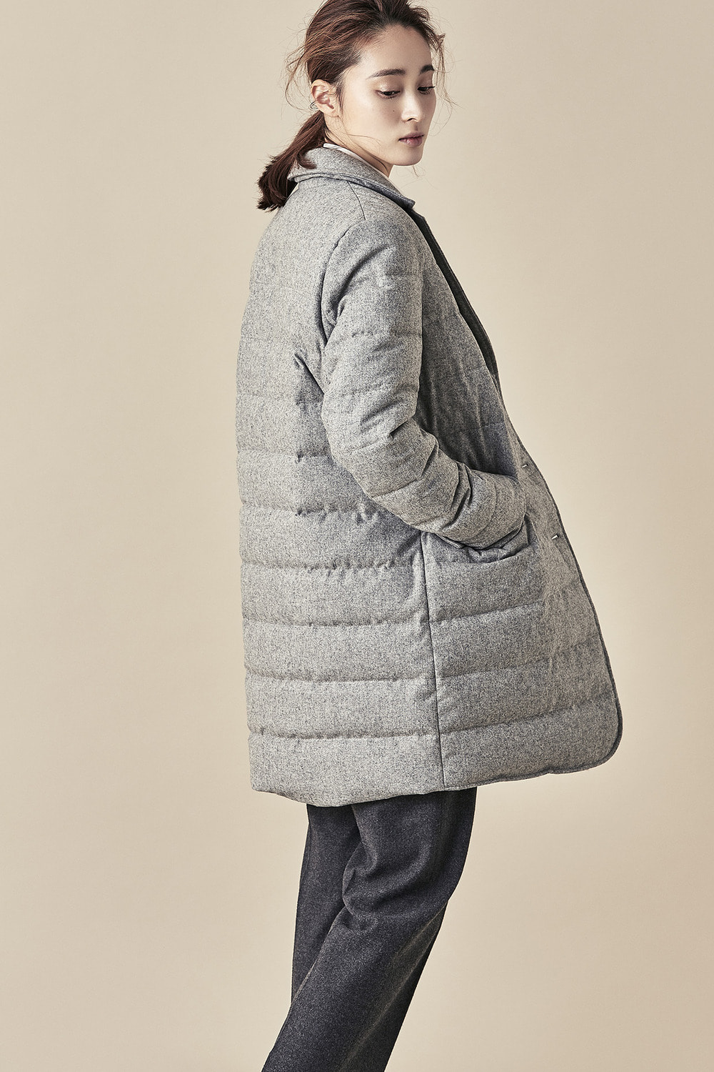 Duck Down Padding Coat