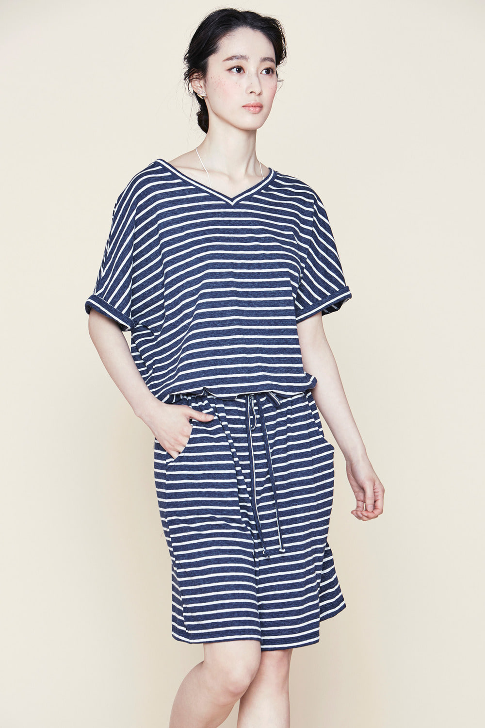 Striped Atelier Dress