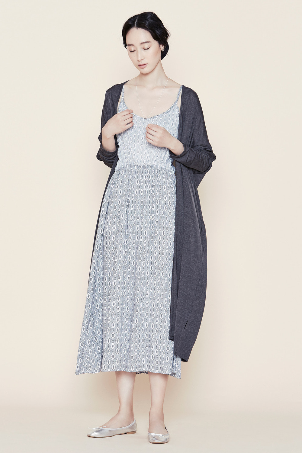 Cloudy Dream Long Dress
