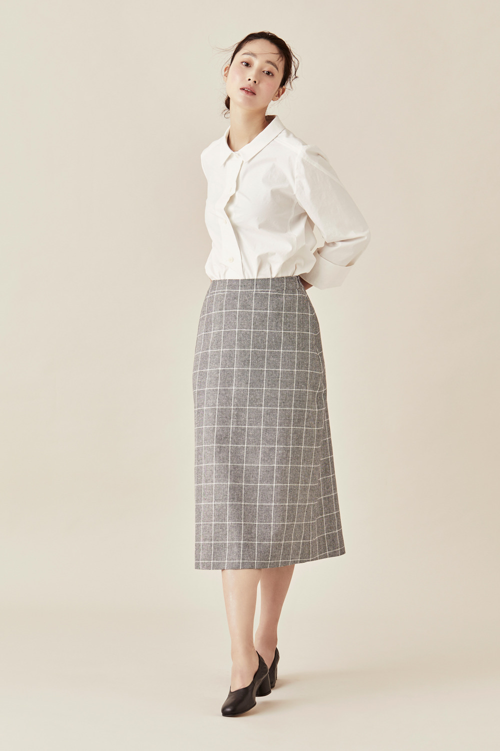 Linen Cotton Ladies Skirt
