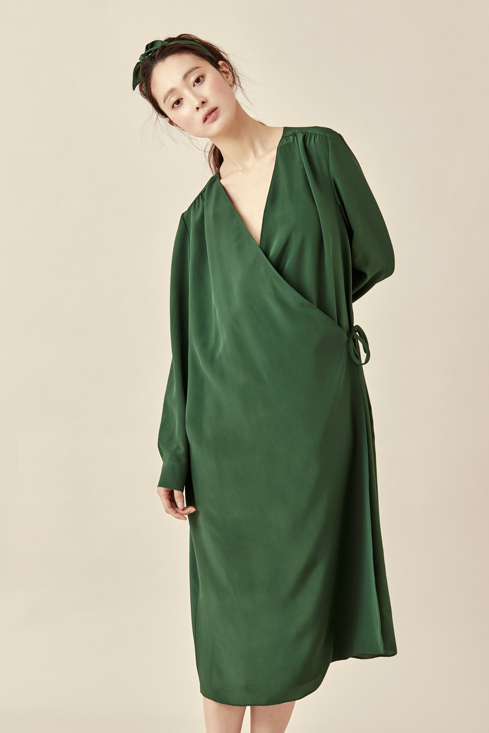 Dream Silk Robe Dress