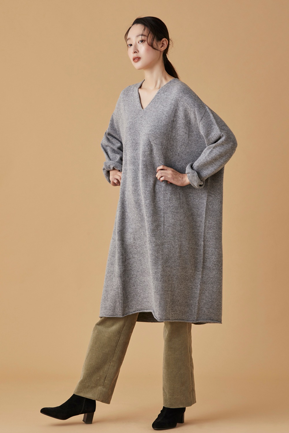 Whole Garment Knit Dress