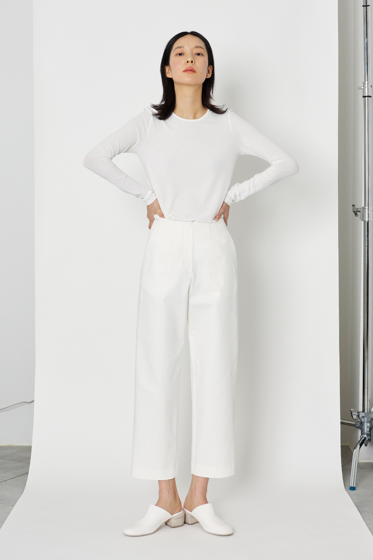 Wellmade white slacks