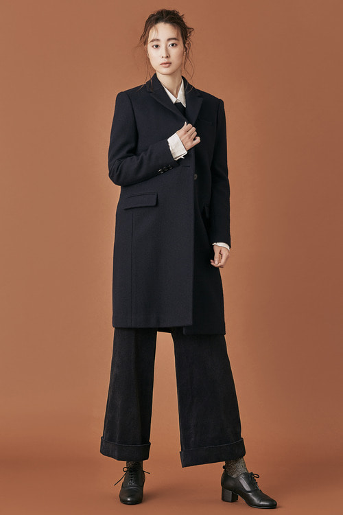 Classic Wool Tailored Coat