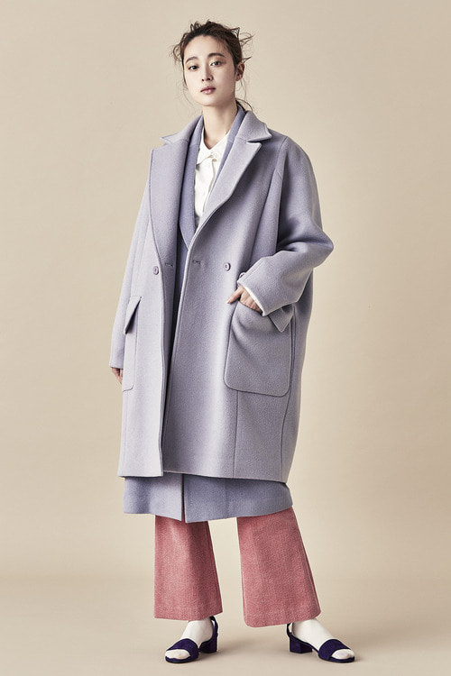 Wool Felt Double Coat