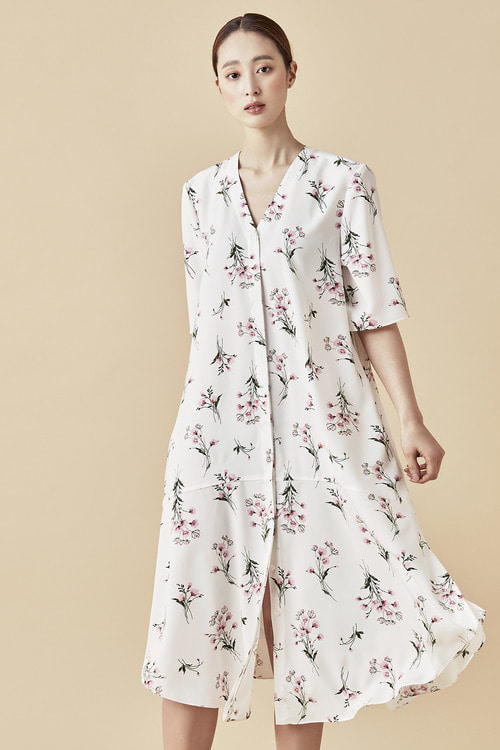 Spring Mood Dress - White