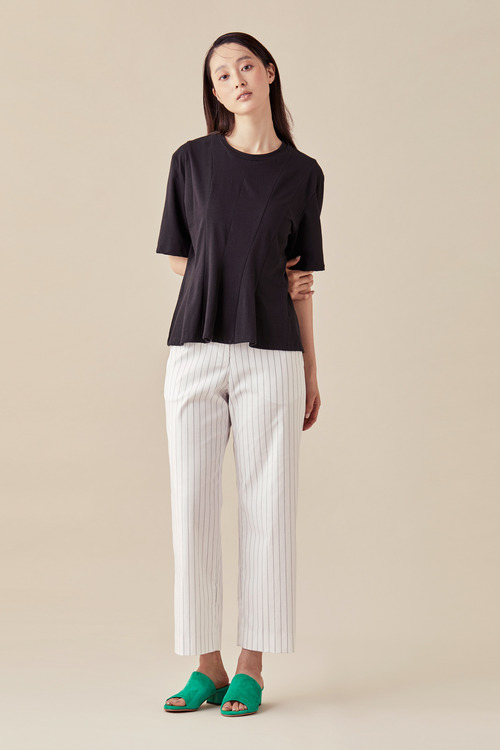 Stripe Linen Pants