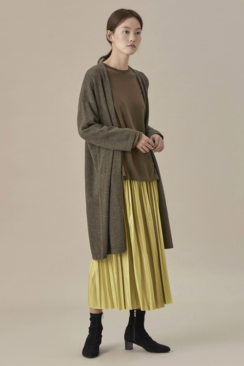 Autumn Pleats Skirt
